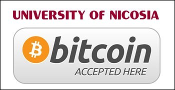 university of nicosia cyprus bitcoin accepted here